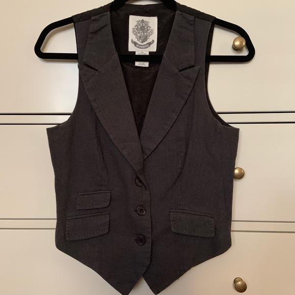 BB Dakota Jackets & Blazers - Dark grey vest